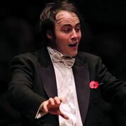 Brighton Philharmonic Orchestra conductor, Ben Gernon