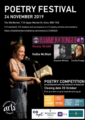 BHAC Poetry Festival Flyer
