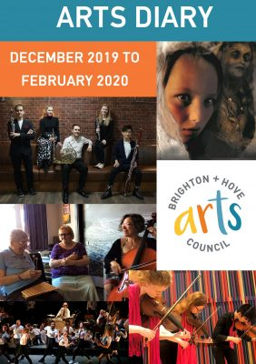 Brighton Hove Arts Diary of what's on